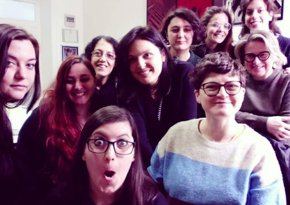 Scuola italiana di Comix di Napoli: le mie allieve