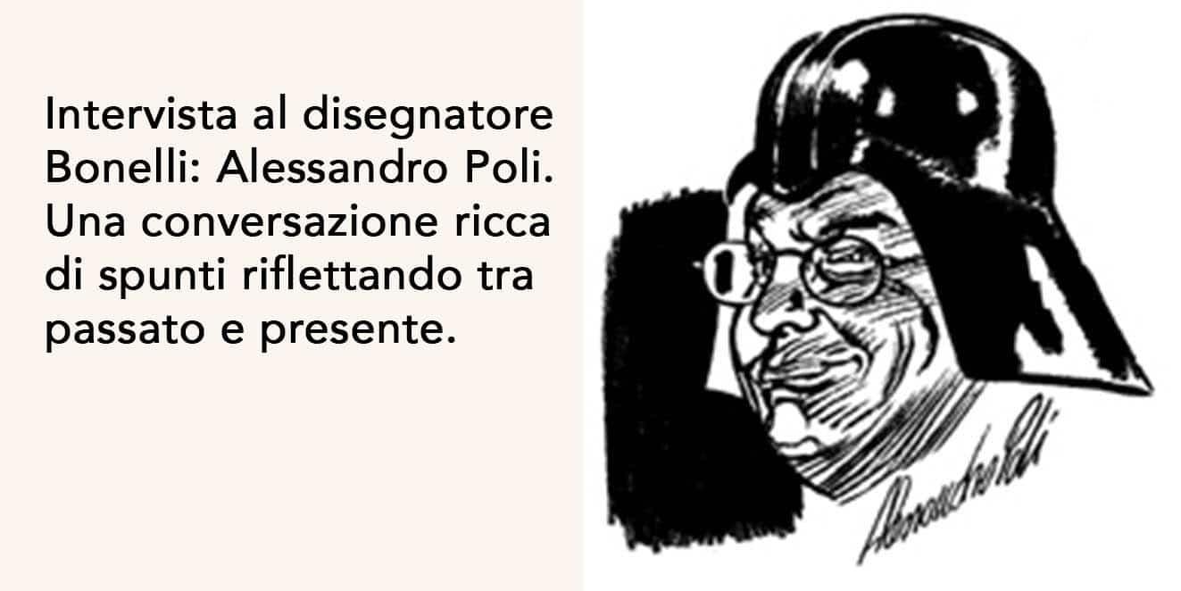 Intervista al disegnatore bolognese: Alessandro Poli