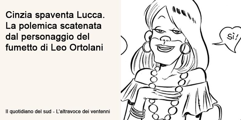 Cinzia spaventa Lucca