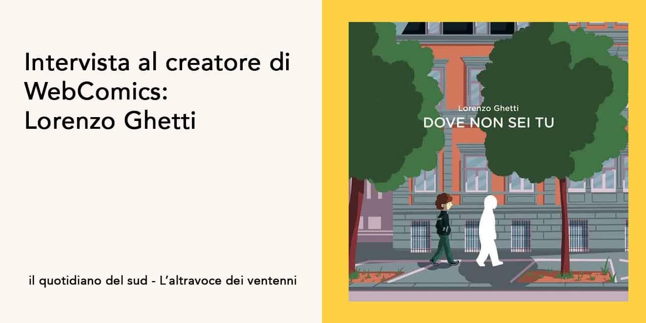 Intervista a Lorenzo Ghetti